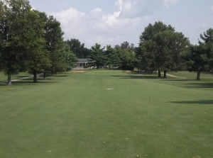 I was able to escape the front nine at only 2-over par, which was a feeling with which I was completely unfamiliar.