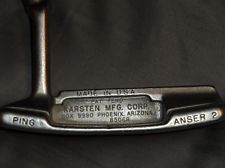 Oh, what I would give to get back my beautiful bronze Karsten Anser 2 putter.  Unfortunately, it met its end at the intersection of a tantrum and a cart path.