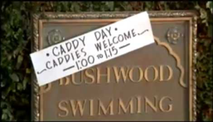 Caddyshack Caddy Pool Day