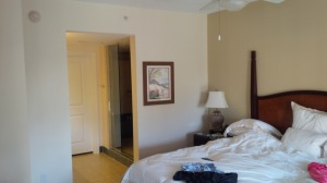 Our spacious Master Suite let us feel like we each plenty of our own personal space.
