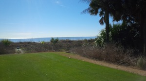 The back nine really begins on the 11th hole, as you turn away from the Ocean, and I turned back towards home.