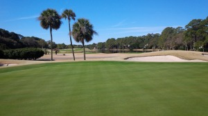 The 13th fairway is even wider than this picture makes it appear.