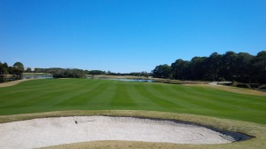 I'm ashamed to admit it, but knowing that I'd be paired with strangers after a week of having golf courses to myself doomed me to a lackluster performance at the Jones Course at Palmetto Dunes.