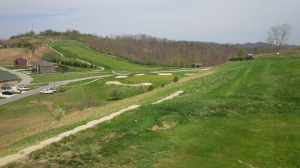 At 154 yards, the 50-plus feet of elevation change between the 11th tee and green make for a nervy short iron shot.