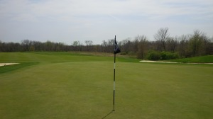 Standing on the 2nd green, in retrospect, it was the last time I was really comfortable on a green all day.