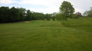 Hole number 13 is the second of a stretch of four holes that still defines Golf Club of the Bluegrass for me.