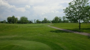 This is the color green I believe Golf Club of the Bluegrass was designed to played, hopefully it lasts past June 1.