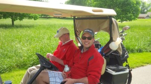 Matt & Dustin comprised 2/3 of our D-team all stars for this year's Scramble.