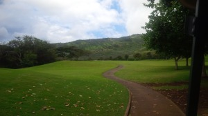 At times it was hard to keep focused on the course and not be awed at the beauty of the West Maui forests.