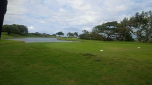 Kahili Golf Course rests at the foothills of the mountains, but only has water in play on a handful of holes.