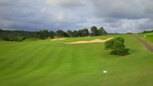 The elevation changes and undulations are laid out as if the Earth wrinkled just to make a perfect golf course.