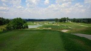 Heritage Hill provided a good round of golf with some surprisingly great grub.