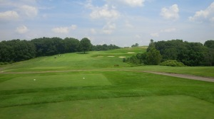 Standing on the 1st tee at Longaberger, we knew we were in for a special treat of a golf course.