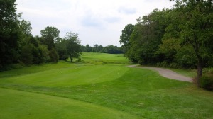 Other than the tee boxes, which were in fantastic shape, there were very few flat spots to be found at Persimmon Ridge.