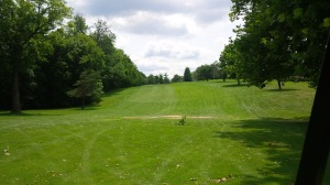 A hook of any strength will land you in jail, if not out-of-bounds, on the uphill par 5 13th hole.