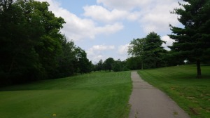 At only 319 yards, the short par 4 16th hole is as close to a true risk/reward hole Tates Creek offers.