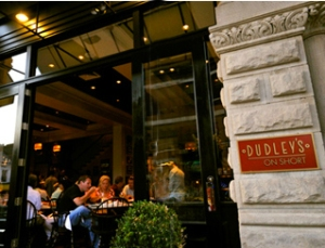 Indoor, outdoor, private dining rooms, or a beautiful bar, Dudley's has almost whatever you're looking for.