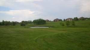 One of the many fantastic vistas on the second nine at Golf Club of the Bluegrass.