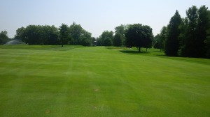 The first thing I noticed from the 1st tee is that the course was in immaculate, manicured condition.