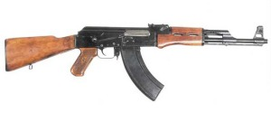 The AK-47 is a marvel of modern engineering.  Created for use in the severe climates of the Soviet Union, the AK-47 possesses relatively loose tolerances and is able to function even if its components are fouled by debris.