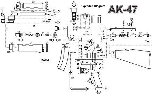 Colt M4 M16 Exploded Parts Diagram Ar Lower Diagram
