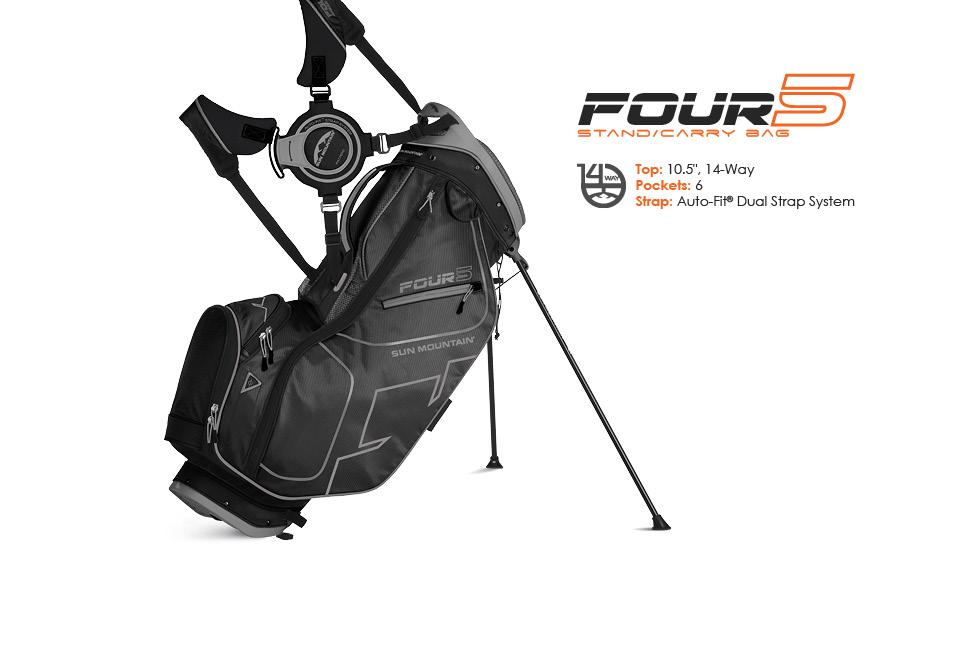 one bearded review sun mountain four 5 golf bag one bearded golfer