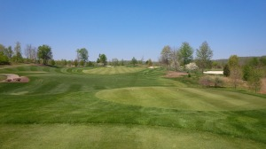 The view from the 1st tee is indicative of the pristine conditions kept at Belterra.
