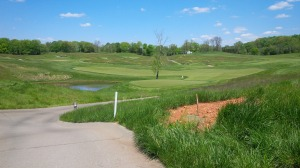 There were familiar elements of other courses or golf holes, but each of Olde Stone's 18 holes are a delightfully unique challenge.