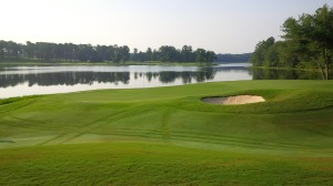 Whether playing great or poorly, it's difficult not to find a little serenity in the magnificent views on the Lake Course.