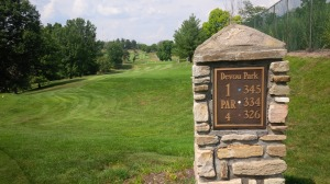 Devou Park Golf Course is now at the top of my personal louche list of golf courses.