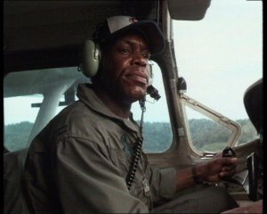Glover's Lt. Clark is a composite character that represents the many forward air controllers tasked with keeping Bat 21 Bravo alive.