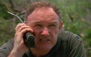 Gene Hackman delivers a fantastic performance as Lt. Col. Hambelton.
