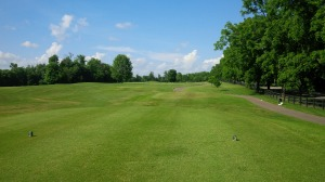 The long par five 10th hole may be the only straight ahead, grip-it-and-rip-it hole on the entire course.
