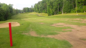 Hopefully a mild winter will allow the 15th fairway to recover, because it could be a really fun hole.