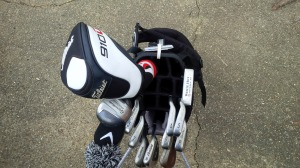 A move to the 14-slot Sun Mountain Four 5 golf bag was a big step up in quality.