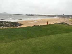For a course that looks wide open, North Berwick requires precision and exacts a heavy toll on inaccurate shots.