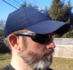 Not exactly Billy Gibbons quality beard & sunglasses combination, but I wasn't exactly trying to create a signature look.