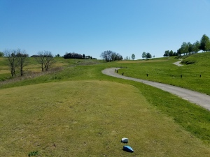 For those of us that remember playing Old Silo in it's prime, today was like visiting the golf course of a ghost town.
