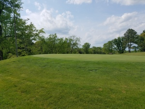 I enjoyed the challenge, character, and consistency that Lincoln Homestead's elevated greens presented.