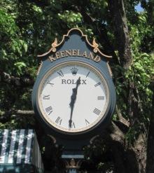 keeneland-clock