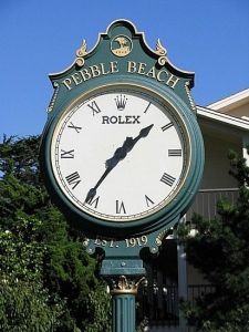 There something elegant and timeless about the Rolex Golf Clock...until I get put on the clock.