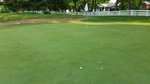 Earlier this year, there was a 95% chance I would have left this uphill putt short.