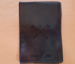 I'm a big fan of well done leather goods. And the CarveOn Scorecard Holder fits that description.