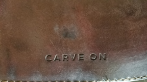 The CarveOn Scorecard Holder is a perfect, personalized gift for the golfer(s) in your life.
