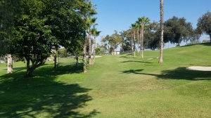 A narrow, tree-lined, mid-length tee shot to an elevated, semi-blind green is a combination of challenges worthy of any golf course, big or small.