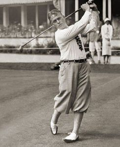 """Bobby Jones could pull off """"The Uniform"""" gracefully; for me, one swing and I'd look like a vagabond."""