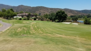 As I approached the 18th green at Maderas, with the clubhouse in the background, I was sorry that my round was ending.