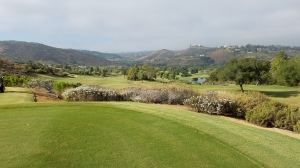 Stunning views of the ridges surrounding Maderas, like this one from the 3rd tee, distract from the stern tests of golf that await on each hole.
