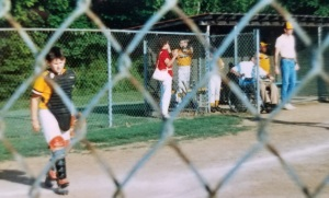 Dad was a mainstay in the dugouts at Kereiakis Park in the late 80's & early 90's.